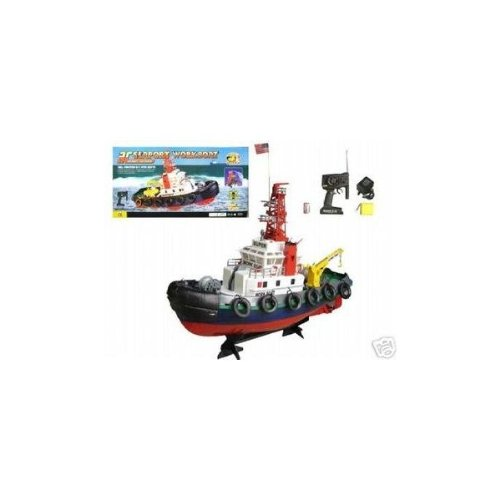 RC Tug Boat - Radio Remote Control Sea Port Tug boat - Ready To Run by www.RCjo.com