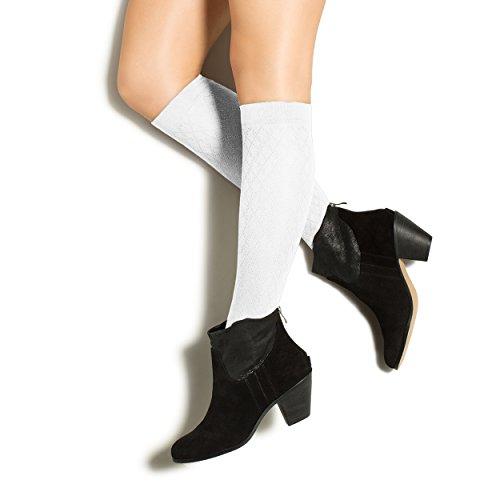 Therafirm LIGHT Women's Diamond Trouser Socks - 10-15mmHg...
