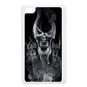 JenneySt Phone CaseSkull Art FOR IPod Touch 4th -CASE-4