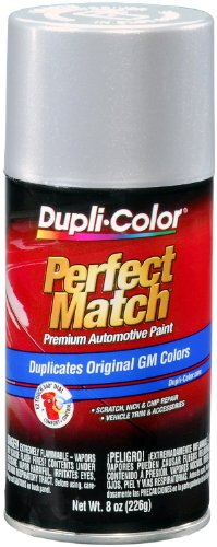 Dupli-Color BGM0540 Light Slate Metallic General Motors Exact-Match Automotive Paint - 8 oz. -