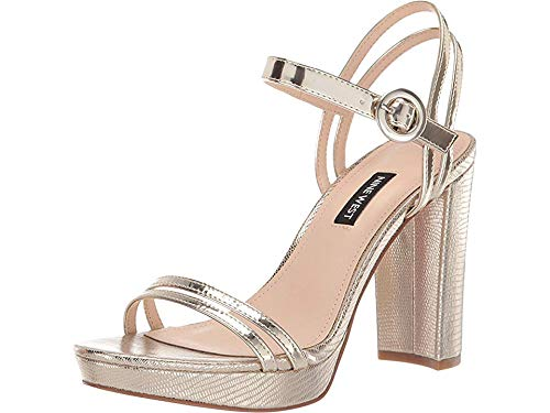 Daisy Womens Sandals - Nine West Women's Daisy Gold 8 M US