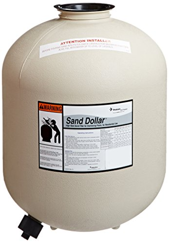 Pentair 145327 Almond Tank with Internals Replacement Sand Dollar SD40 Aboveground Pool and Spa Sand Filter by Pentair