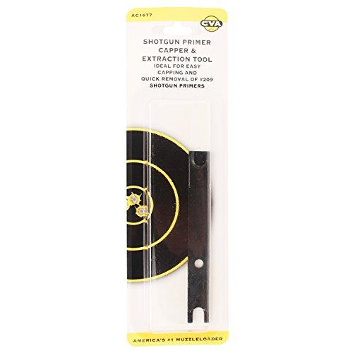 CVA Black Plastic Capper/Extractor Tool For 209 Primers Md: AC1677