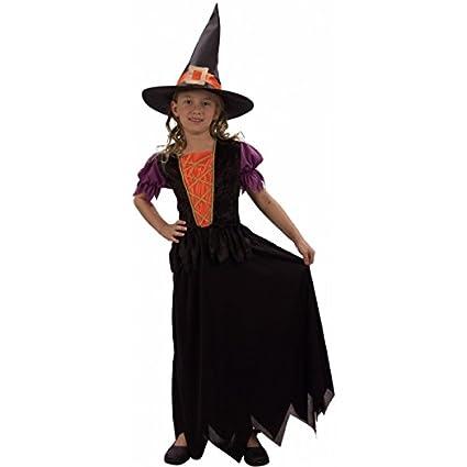 Disfraz de bruja niña - 4 - 6 años: Amazon.es: Juguetes y juegos