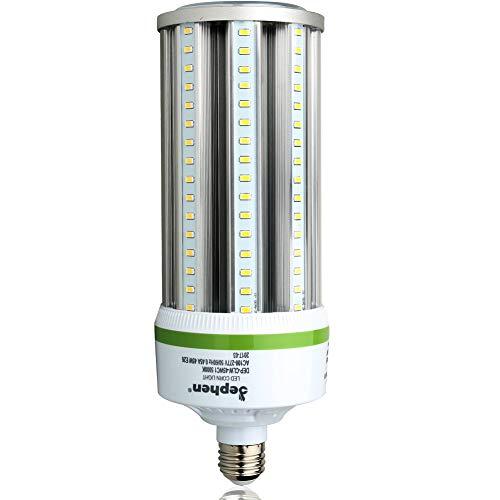 (45W Led Corn Light Bulb 5000K Garage Light E26 Medium Base 6300Lm Commercial Lighting Replacement for 175W Metal Halide/HPS/HID Post Top Wall Lantern Barn Workshop Warehouse Porch Backyard Lighting)