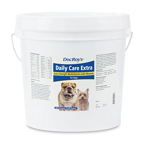 Doc Roys Daily Care Extra Canine Tabs 2500ct