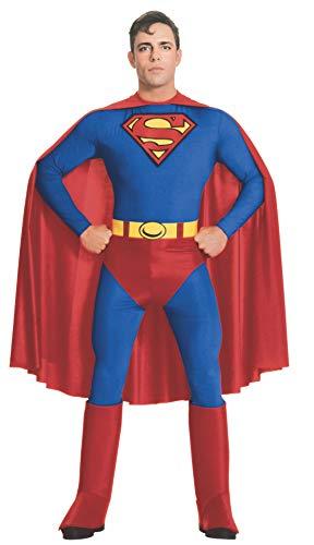 Rubies Costume Co Adult, Disfraz de Superman para hombre, azul ...