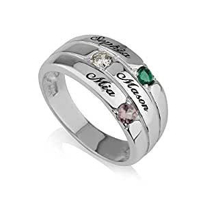 Personalized Jewelry  Engraved Ring Inscriptions  Custom