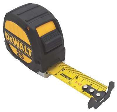 DeWALT 25' Metal Impact Polyester Coated 1-1/4'' Tape Rule by DEWALT