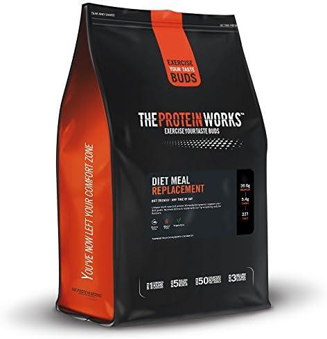 Diet Meal Replacement Powder, Shake zum Abnehmen, hoher Proteingehalt, nährstoffreich, THE PROTEIN WORKS, [flavour], [size]