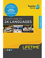 Rosetta Stone Lifetime Access: Learn 1 of 24 Languages