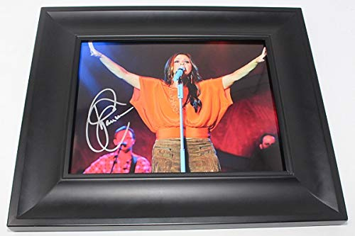 Sara Evans Country Music Star Born to Fly Hand Signed Autographed 8x10 Glossy Photo Gallery Framed Loa