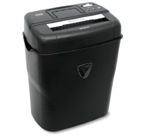 - Aurora AS1018CD 10-Sheet Cross-Cut Paper/Credit Card/CD Shredder with Basket