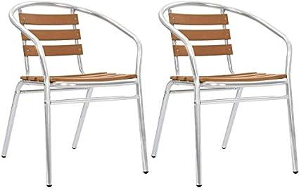 3 petits restaurants install/és mobilier de jardin en plein air terrasse r/ésistant aux intemp/éries 1 table carr/ée 2 chaises,White