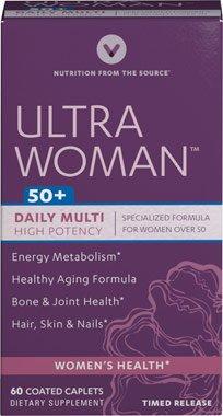 Vitamin World Ultra Woman™ 50 Plus Daily Multivitamins, 60 Count