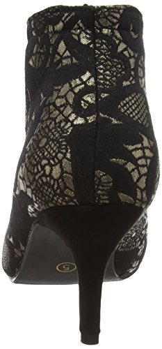 Joe Browns Jazzy Jacquard - Tacones Mujer Multicolor (A-Black/Gold)