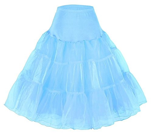 Diyouth Women's 50s Vintage Rockabilly Petticoat,26