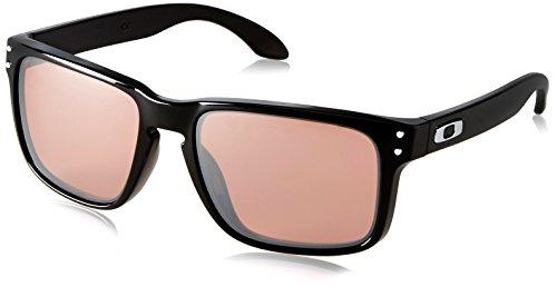 Oakley Men's Holbrook OO9102-55 Rectangular Sunglasses, Polished Black, 55 - Oakley Rectangular Sunglasses Holbrook