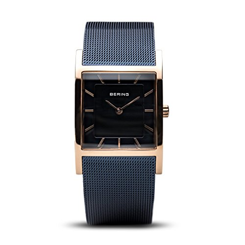BERING Time 10426-367 Womens Classic Collection Watch with Mesh Band and Super Hardened Mineral Glass. Designed in Denmark.