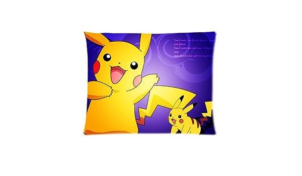 De moda de anime Pokemon funda de almohada hinchable de imagen ...