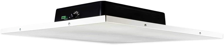 """Rockville DCS8T 70V Commercial 8"""" Drop Ceiling Tile Speaker for Office/Business"""