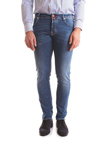 Jacob Cohen Jcu01j62200979blue Uomo Blu Cotone Jeans xxnHw8