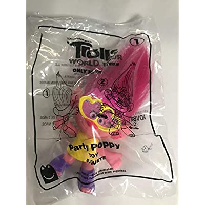 McDonald's 2020 Trolls World Tour Happy Meal Toy #1 Party Poppy: Toys & Games