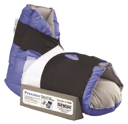 Sage Products Prevalon Heel Protector Boot - 7300CS - 8 Each / Case