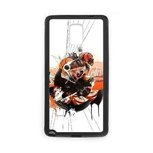 Cincinnati Bengals Samsung Galaxy Note 4 Cell Phone Case Black 218y3-157177