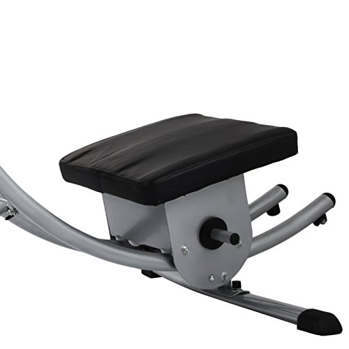 Popsport Abdomen Machine 330LBS Abdominal Coaster Abdomen Exercise Equipment with Adjustable Seat for Abdominal Muscle Training (Ab Coaster with 4 Dumbbells) by Popsport (Image #8)