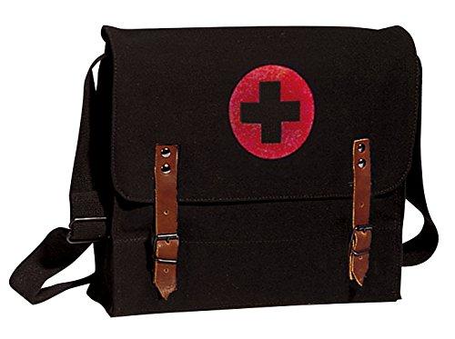 Rothco Canvas NATO Medic Bag, Black