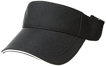 Augusta Sportswear Athletic mesh Visor, Black, One Size