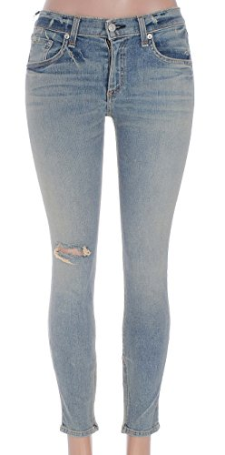 Rag & Bone Womens Zipper Capri Skinny Jeans Size 27 in Water St (27x27, Water st) by Rag & Bone/JEAN