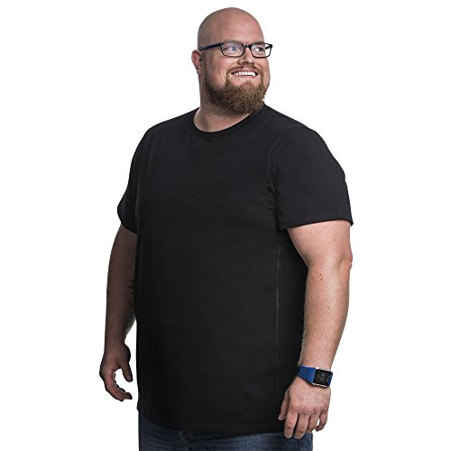 Alca Classic Big and Tall t Shirts Crew Neckline. (XXX-Large, - Men Tall Shirts Big And