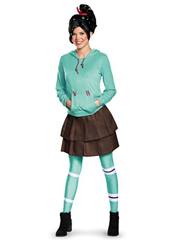 Disguise Wo Deluxe Vanellope Von Schweetz Costume Medium