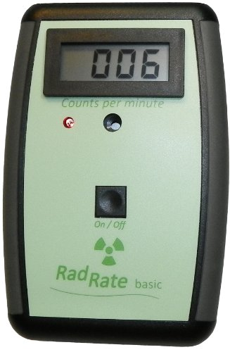 Geiger counter RadRate basic Radiation meter with...