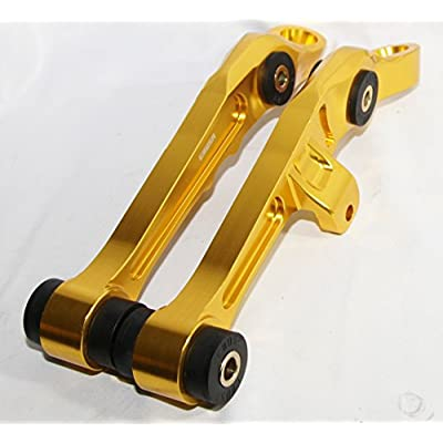 1 Pair Front Lower Control Arms for 2003-2007 Nissan 350Z Coupe 2D/Convertible 2D 2003-2007 Infiniti G35 Base Coupe 2D (GOLD): Automotive