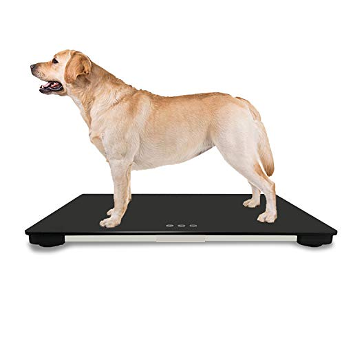 Veterinary Scale | Big Dog Scale | Digital Weighing Equipment | Large Platform Vet Dog | Auto Hold | KG/LB/LB:OZ Switchable | Pet Digital Scale New by TeaTime (Image #6)