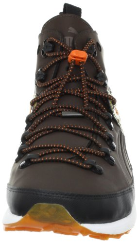 Puma Faas Terai Caminante zapatilla de deporte Demitasse Brown/Jaffa Orange