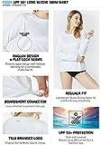 TSLA Women's UPF 50+ Long Sleeve Swim Shirt, UV/Sun