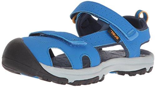 Youth Hurricane - Teva Boys' K Hurricane Toe PRO Sport Sandal, Dazzling Blue, 12 M US Little Kid