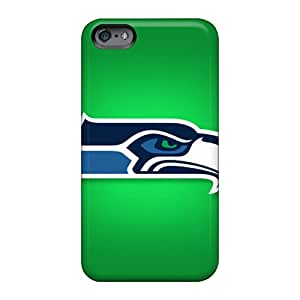 Protective Cell-phone Hard Covers For Apple Iphone 6 Plus With Custom Lifelike Seattle Seahawks Series TrevorBahri