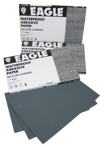 Eagle 131-1500 - Superfine Waterproof 1/2 Sheets 5 1/2x9 - Grit P1500 - 50 shts/sleeve Review