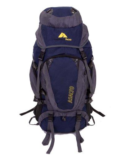 Guerrilla Packs – 70l Internal Frame Fully Adjustable Hiking Travel Backpack – Sport Backpack – Travel Backpack, Outdoor Stuffs