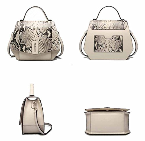 Bags Handbags handle Messenger Female High Beige Cross end Totes Bag Shoulder body Leather Top qTZCvf