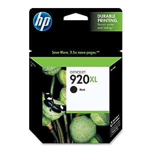 HP 920XL Black High Yield Original Ink Cartridge (CD975AN#140)