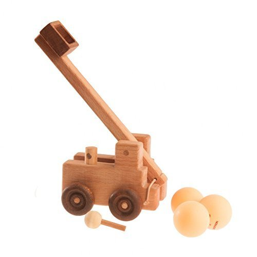 Catapult car, Military equipment, Wooden toy, Wooden car, Toy for boysCatapult car, Military equipment, Wooden toy, Wooden car, Toy for boys