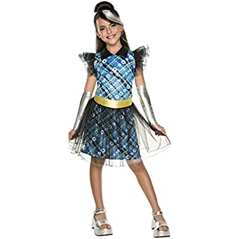 Monster high frankie stein costume one color for Halloween kostuum action