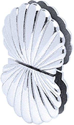 (CRL Shell 002 Series Chrome Glass-to-Glass Mount Hinge)