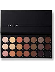 21 Nudes & Rudes Highly Pigmented Professional Neutral Eyeshadow Palette - Everyday Makeup Shadow Palette with Intense Pigment